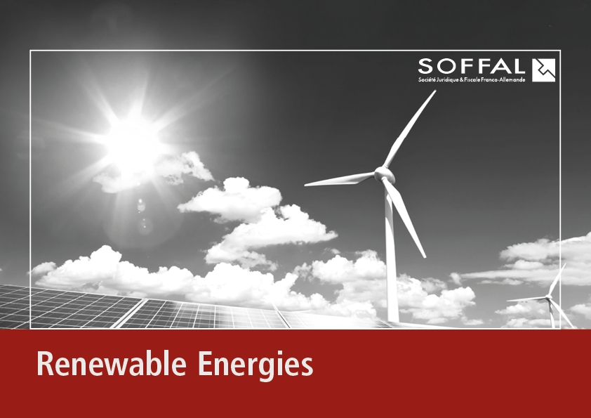 "Brochure ""Renewable Energies"" SOFFAL"