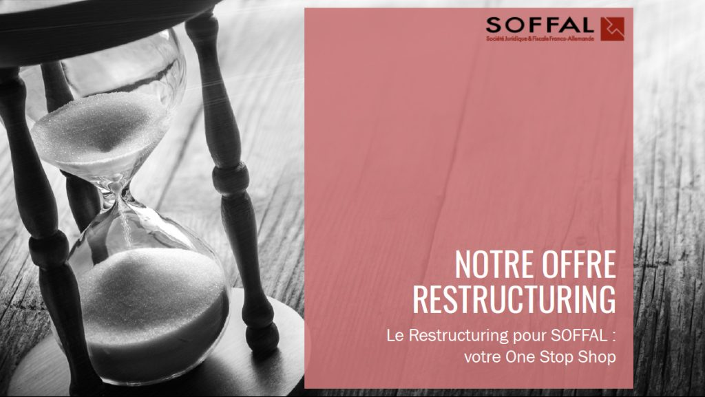 Notre Offre Restructuring